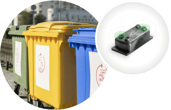 IoT Monitoring waste containers